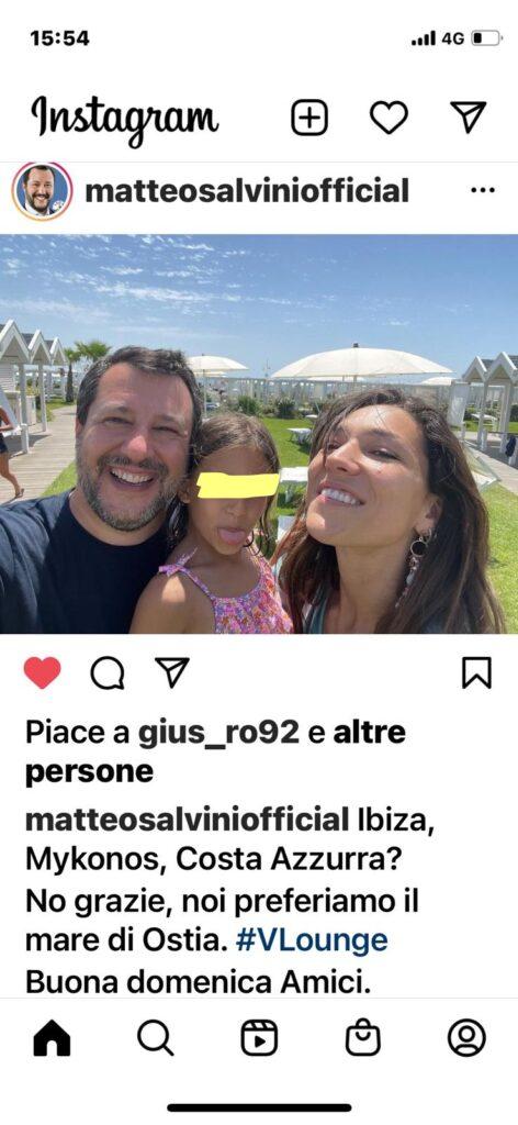 """""""Il mare di Ostia? Meglio di Ibiza, Mykonos e Costa Azzurra"""": parola di Matteo Salvini 1"""
