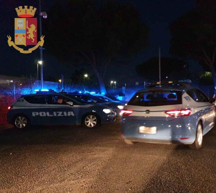 ubriaco polizia