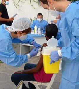 Covid, cominciata la vaccinazione degli immigrati di Anzio e Nettuno 1