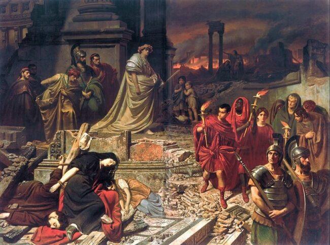 Quando, in una notte, la Roma di Nerone bruciò 1