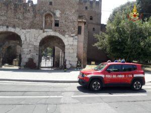 Roma, incendio al museo della via Ostiense: salvate quattro persone 1