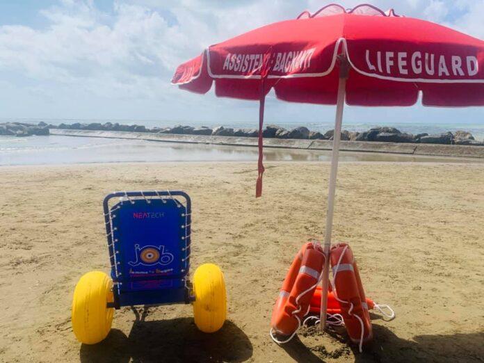 anzio disabili spiaggia