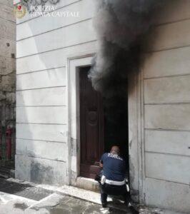 Roma, incendio al museo della via Ostiense: salvate quattro persone 2
