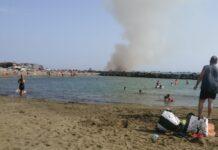 incendio via del faro