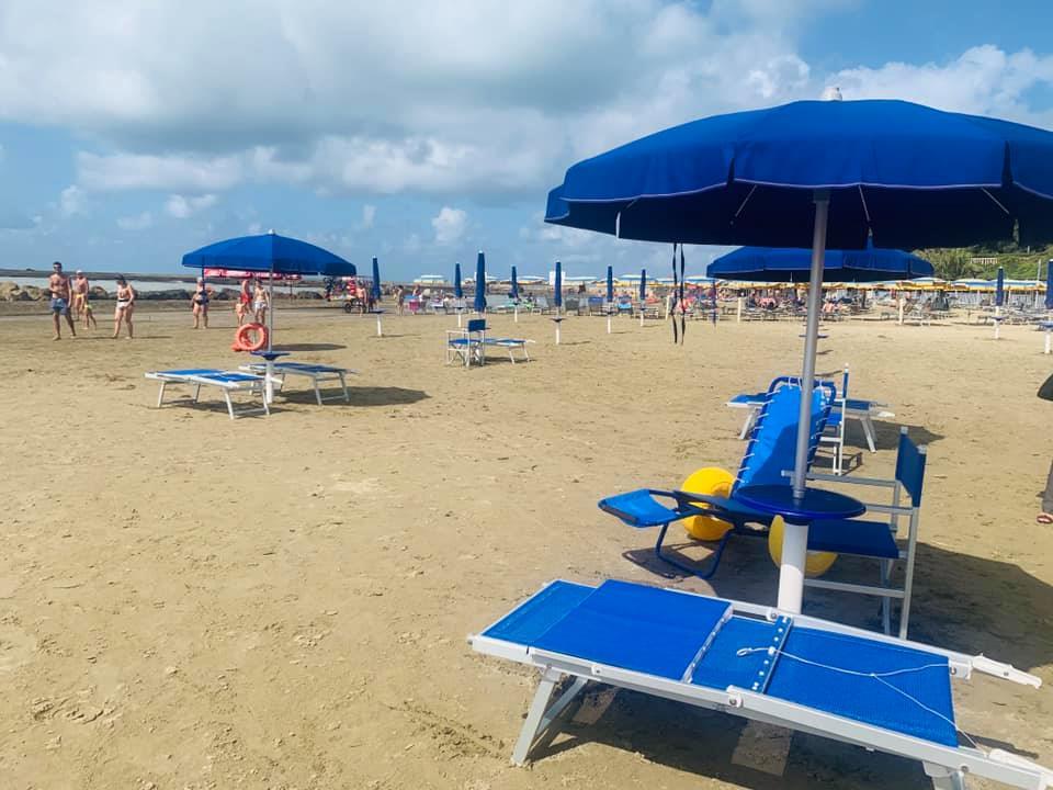 spiaggia disabili anzio