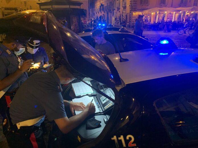 ubriaco trastevere carabinieri