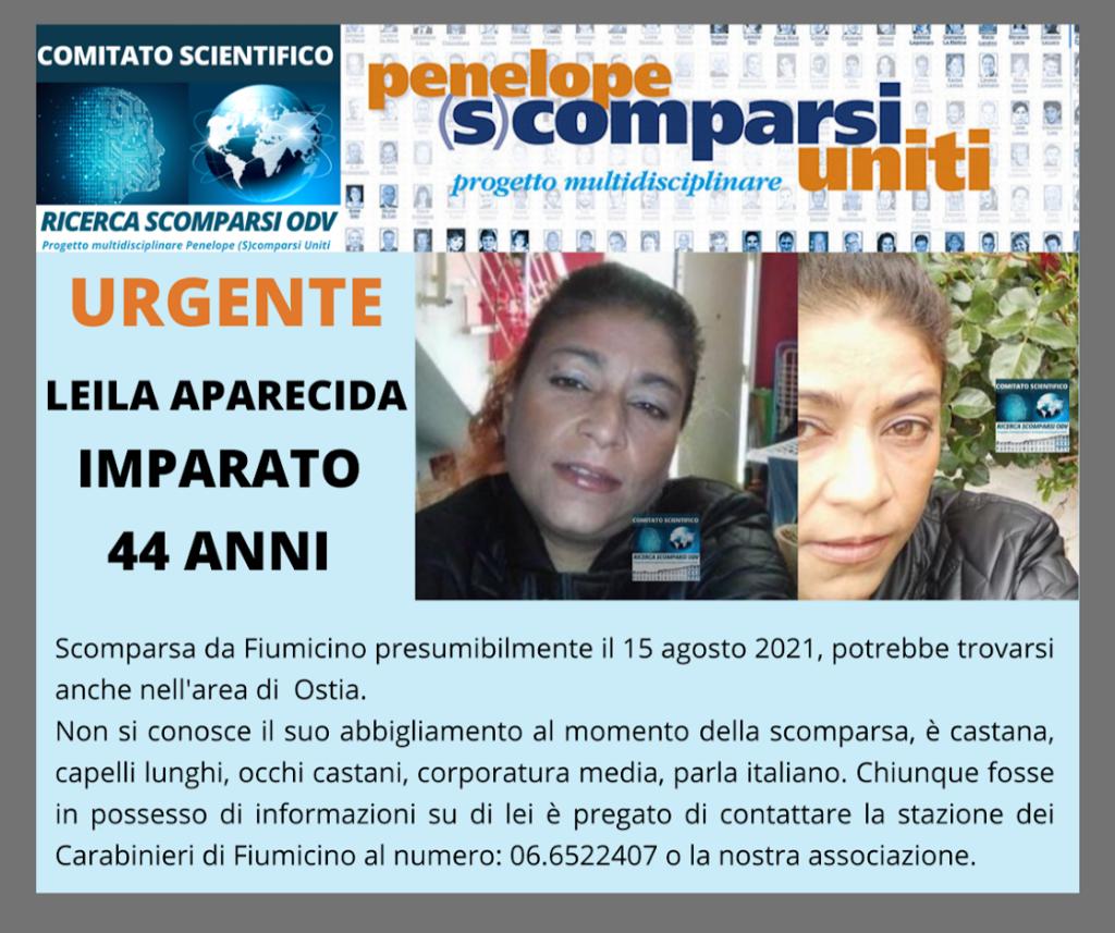 Fiumicino, scomparsa donna di 44 anni: la sua descrizione 1