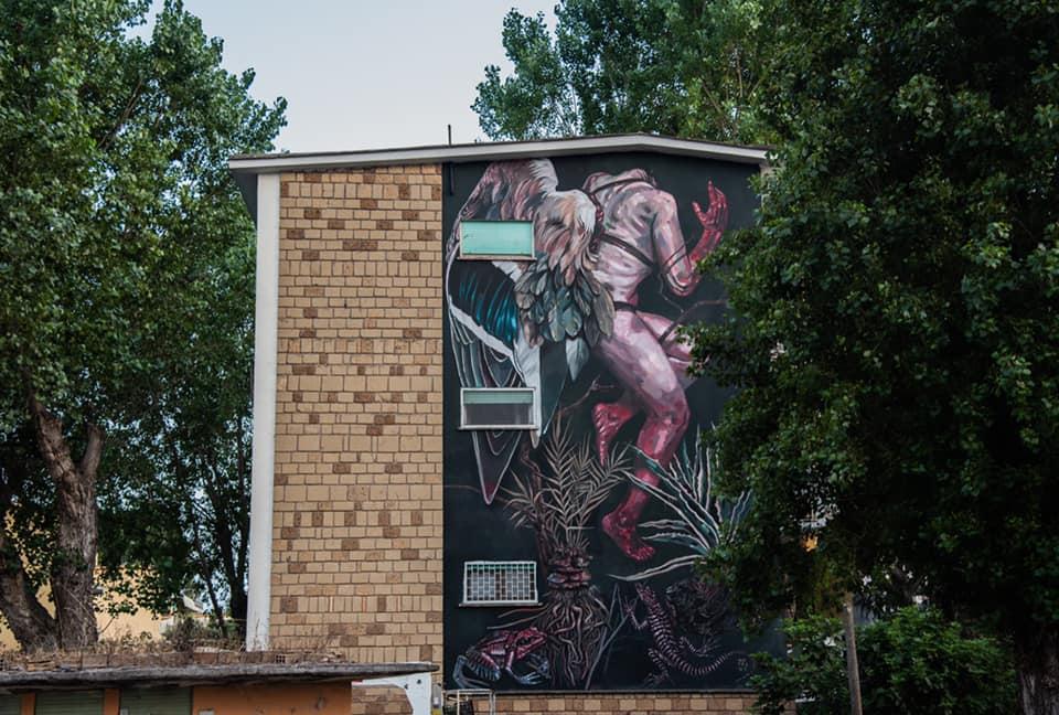 Fiumicino: nove murales per dare un volto nuovo a Villaggio Azzurro 2