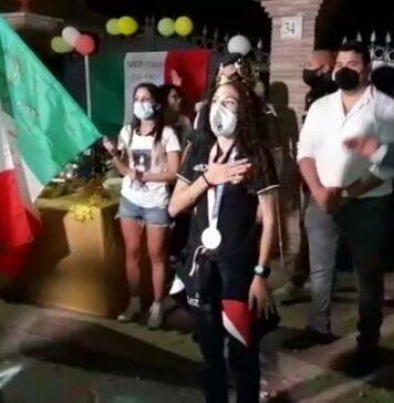 Antonella Palmisano festa a sorpresa