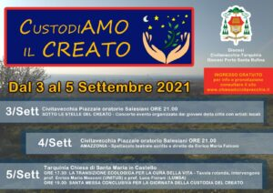 """""""Custodiamo il creato"""": le date del meeting cattolico a Civitavecchia e Tarquinia 1"""
