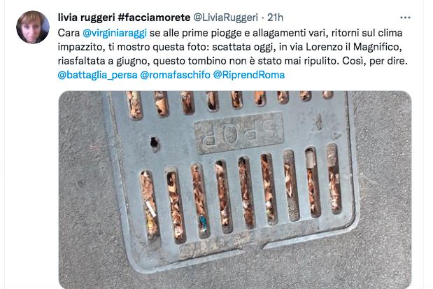 Roma: caos per la pioggia torrenziale. Strade allagate e alberi caduti: le zone 2
