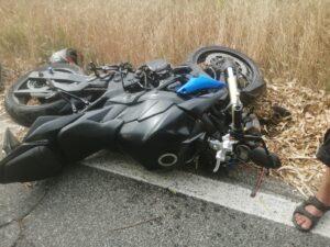 Ostia, incidente frontale tra una moto e un'auto: un ferito al Grassi 1