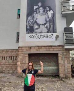Villaggio Azzurro, un murale anche per l'olimpionica Giordana Sorrentino 1