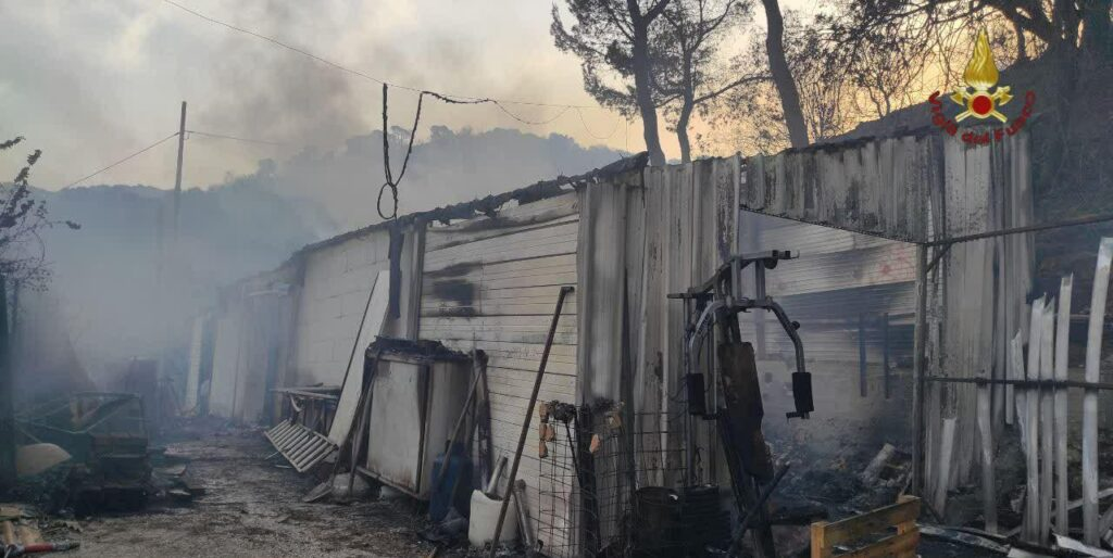 Incendio a nord di Tivoli: evacuata la Comunità Don Bosco (VIDEO) 3