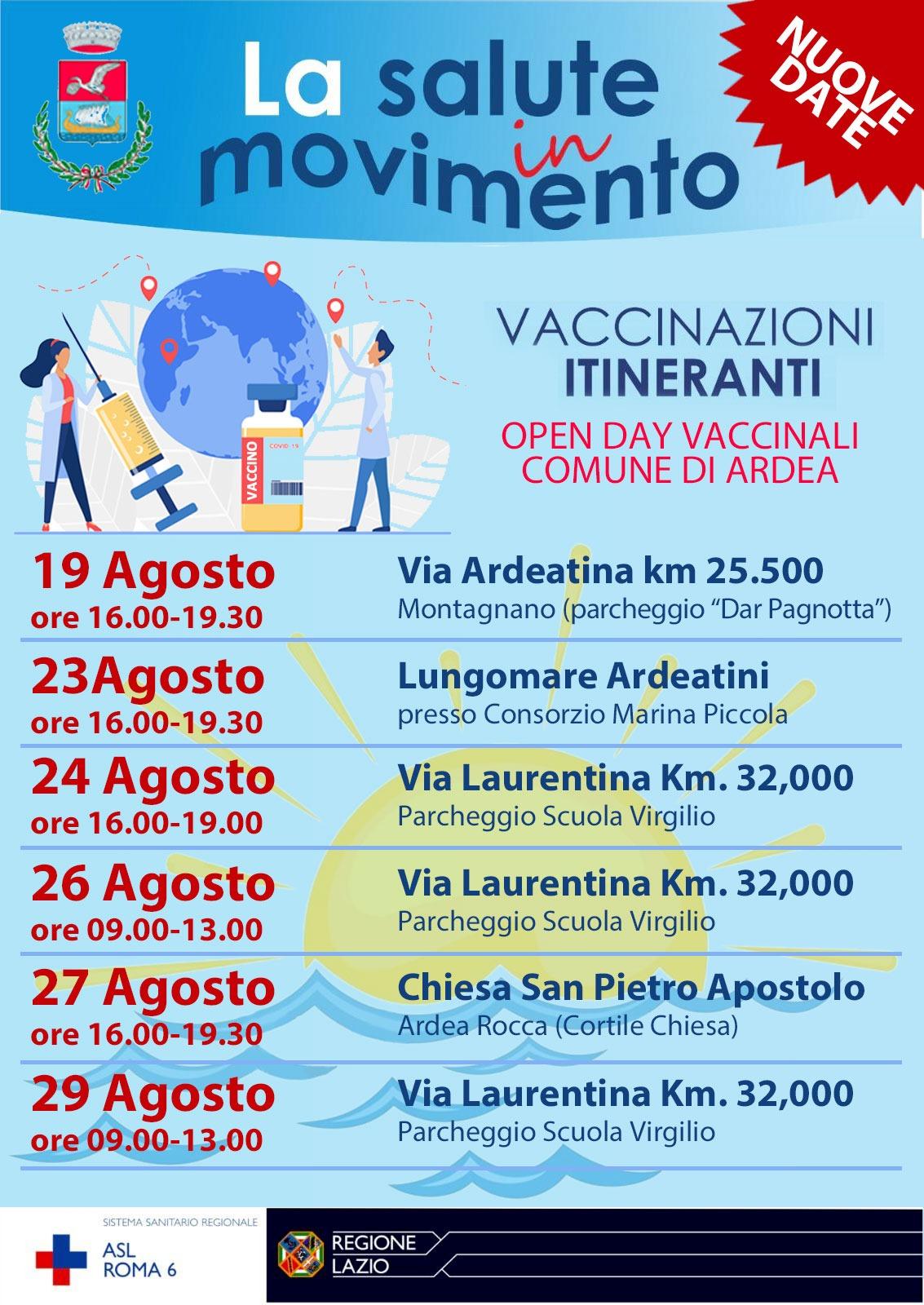 Ardea: tra gli Open day di agosto il primo dedicato alla fascia junior 1