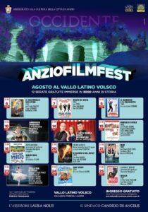 Anzio Film Fest: dodici imperdibili serate ad ingresso gratuito al Parco del Vallo Volsco 1