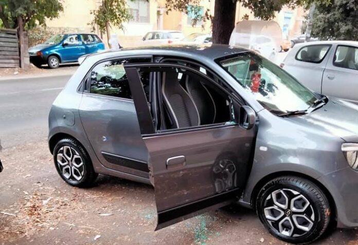 auto derubata matrimonio rovinato