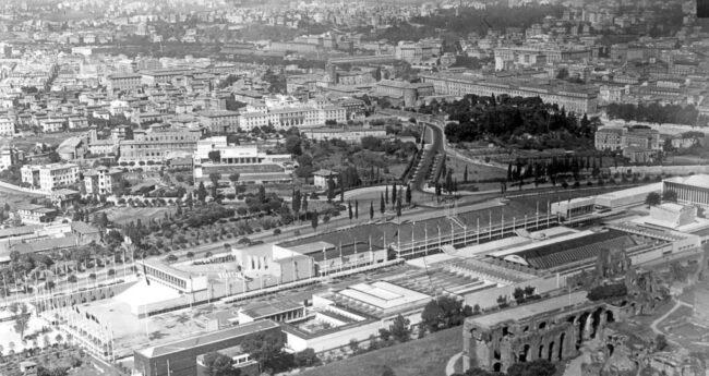Quando Roma volle un villaggio balneare: piscine, sdraio e ombrelloni nel Circo Massimo 3