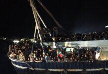 migranti a Lampedusa 27 settembre