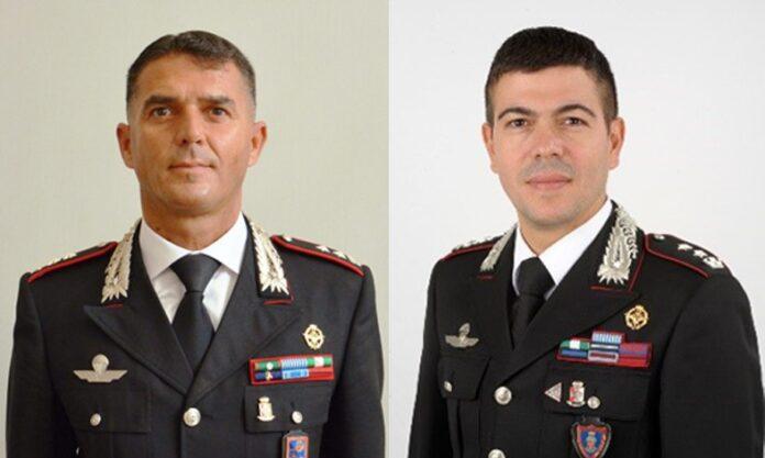 comandanti carabinieri Roma e Frascati