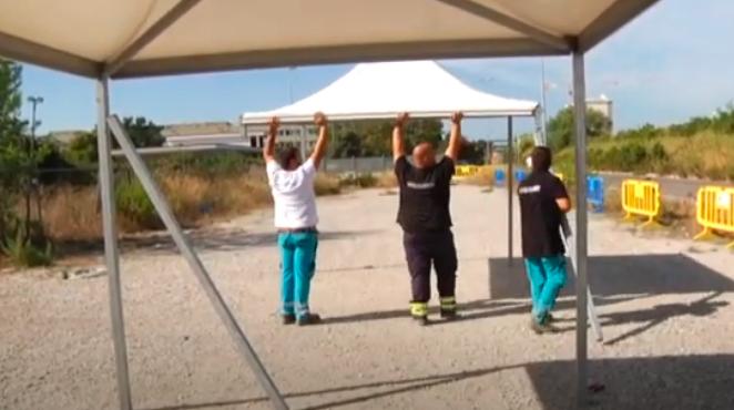 Parco Leonardo: ancora irrisolta l'emergenza gas in via del Perugino (VIDEO) 1