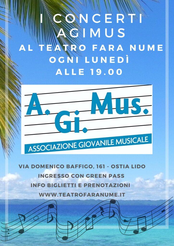 Ostia, al Fara Nume i concerti A.Gi.Mus. del lunedì: biglietti a 10 centesimi per i giovani 1