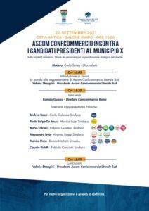 Commercianti a raccolta per intervistare i candidati presidente del Decimo Municipio 1