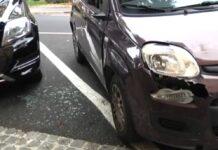 vandali ostia auto